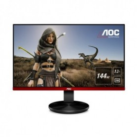 MONITOR AOC LED 24.5 Wide G2590FX 144Hz 1920x1080 1ms 400cd/mq (50.000.000:1) VGA 2HDMI DP Bordless Black GAMING